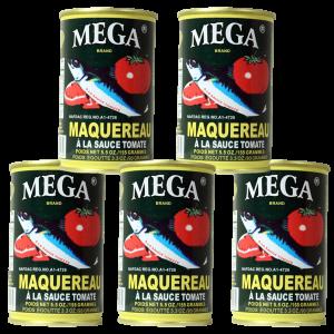 Mega Mackerel in Tomato Sauce