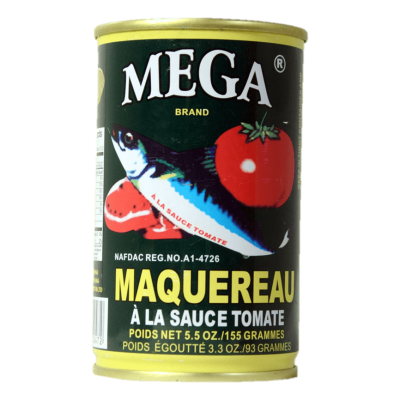 Mega Mackerel in Tomato Sauce